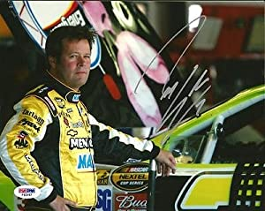 Robby Gordon Autographed Picture - MONSTER ENERGY RACING 8x10 COA - PSA DNA Certified... by Sports Memorabilia