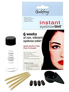 Godefroy Instant Eyebrow Tint Blister Dark Brown Blister