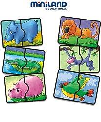 Miniland Safari Sound Puzzle