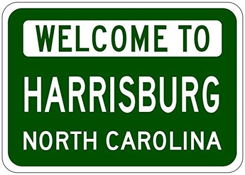 Harrisburg, North Carolina city sign