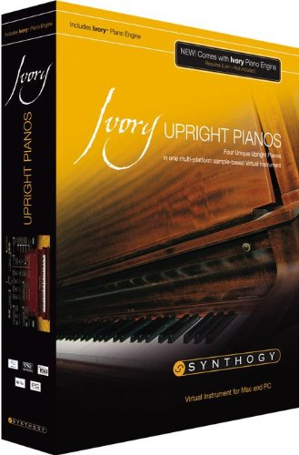Synthogy Ivory Upright Pianos Virtual Instrument