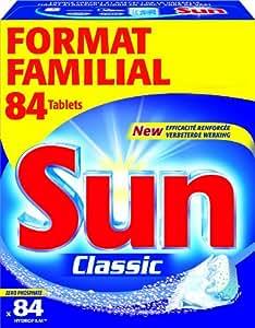 Sun Produits Lave Vaisselle Tablettes Mono Classique Standard 84 Tablets
