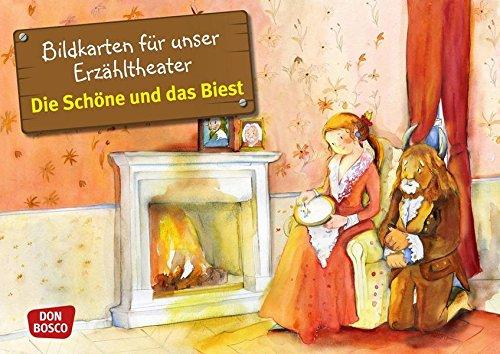 Bildkarten für unser Erzähltheater: Die Schöne und das Biest: Bildkarten für unser Erzähltheater. Entdecken. Erzählen. Begreifen. Kamishibai Bildkartenset