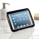 サンワダイレクト iPad mini防水ハードケース スタンド機能 ストラップ付 ブラック 200-PDA109BK