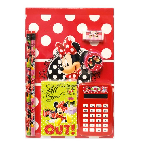 Disney Girls Mickey Mouse 7pc Calculator Set - 1
