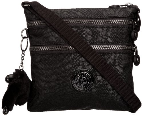 Kipling Women's Alvar S Shoulder Bag K15178A13 Black Snake