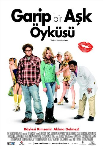 Zack and Miri Make A Porno 11 x 17 Movie Poster - Turkish Style A