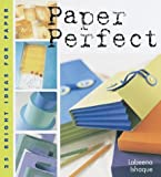 img - for Paper Perfect: 25 Bright Ideas for Paper by Labeena Ishaque (1999-12-31) book / textbook / text book