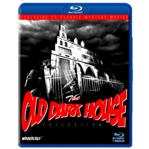 The Old Dark House Mystery Collection (SD Blu-ray) Cat and the Canary / One Frightened Night / Then There Were None / Bat / House on Haunted Hill / Charlie Chan's Secret / Bulldog Drummond's Police / Topper Returns / Black Raven / Ghost Train / Ghoul