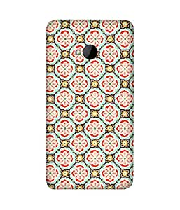 Mughal Print Printed Back Cover Case For HTC One M7