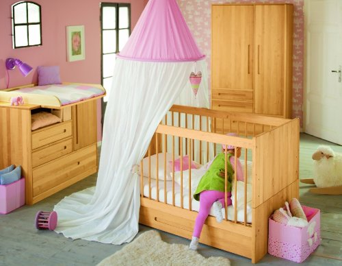 Lina bedbox pour Lina Babybed 70x140. Aulne massif