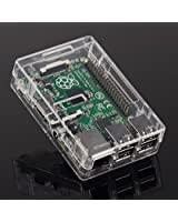 Tontec® Raspberry Pi 2 modèle B et Raspberry Pi B+ (B Plus) Case Boitier for Raspberry Pi B+ (Clear)