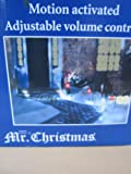 Mr. Christmas Lights and Sounds Musical Pathway Bells Lightshow
