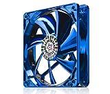 ENERMAX PCケースファン アポリッシュ12cm ブルー UCAP12-BL