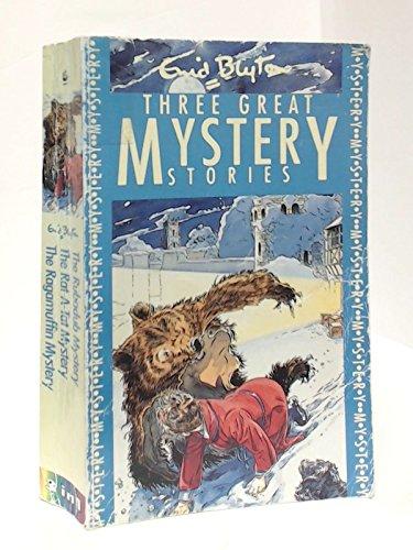 Three Great Mystery Stories: Rubadub Mystery, Rat-a-tat Mystery and Ragamuffin Mystery (Three-in-one) PDF
