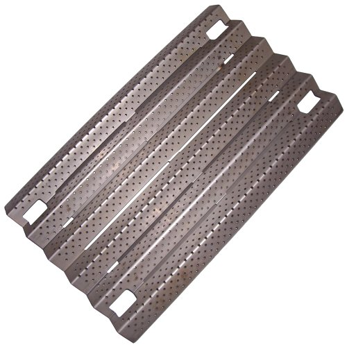 Music City Metals 91931 Stainless Steel Heat Plate Replacement for Gas Grill Models Kirkland 720-0193 and Kirkland 720-0432