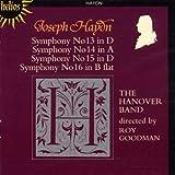 Symphonies N° 13 En Ré Majeur - N° 14 En La Majeur - N° 15 En Ré Majeur - N° 16 En Si Bémol Majeur