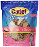 Cadet Salmon Snacks in Resealable Bag for Dogs, 1-Pound
