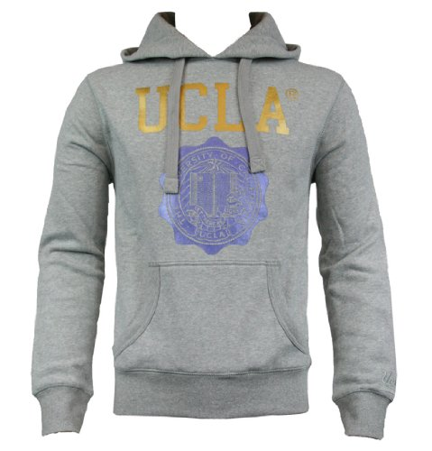 UCLA Farrell Mens Sweat Hoody AW12 Grey Marl L