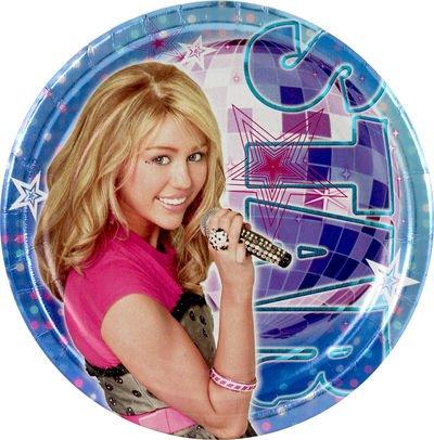 Hannah Montana Plates (8ct) - 1