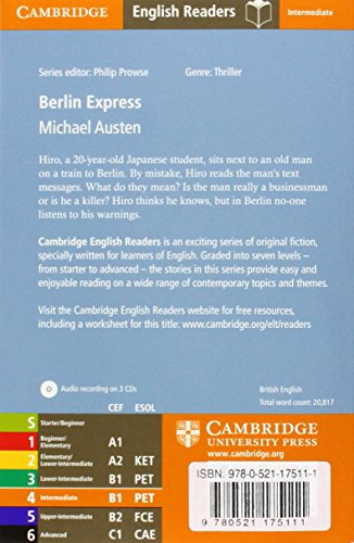 CER4: Berlin Express Level 4 Intermediate with Audio CDs (3) (Cambridge English Readers)