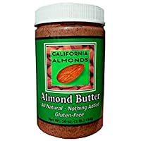 Almond Butter from California - 16 Ounce Jar