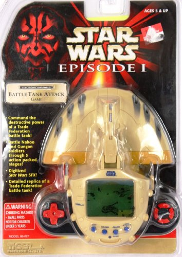 Star Wars Episode I Premier Game: Battle Tank Attack