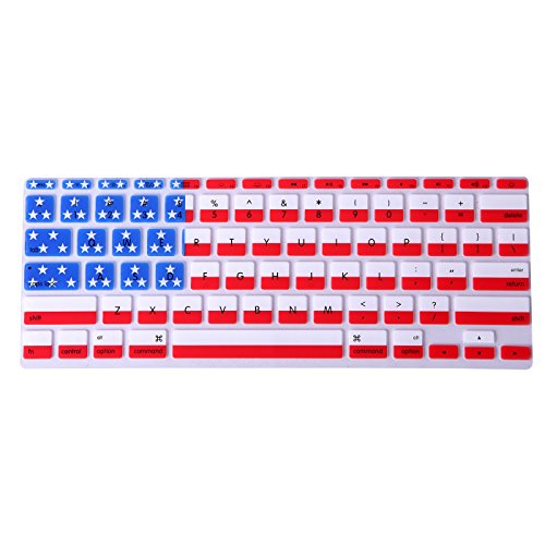 HDE Ultra Thin Silicone Rubber Keyboard Skin Cover for Macbook Air 11