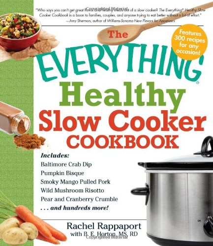 The Everything Healthy Slow Cooker Cookbook front-628083