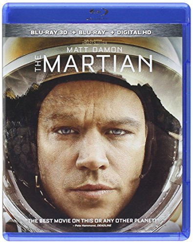Blu-ray 3D : The Martian (3 Dimensional, Digitally Mastered in HD)
