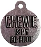 Platinum Pets Star Wars 1.5-Inch Smartphone Pet ID Tag with GPS, Co-Pilot Design
