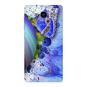 Impressive Premier Blue Shell Butterfly Multicolor Back Case Cover for Redmi 2s