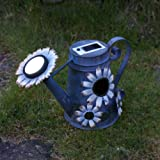 Solar Decorative Watering Can Light