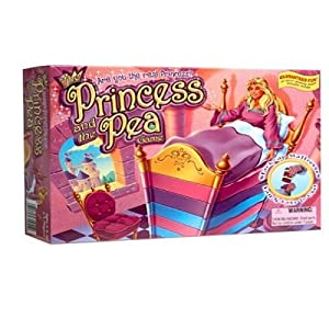 Princess and The Pea Board Game by Winning Moves