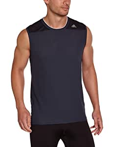 adidas Clima 365 T-Shirt sans manches Homme Night Shade F13 UK : 48-50 (Taille Fabricant : M)