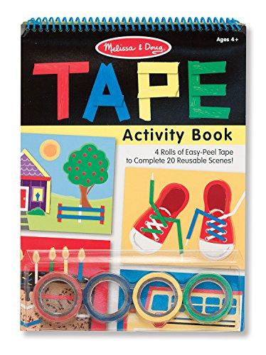 Melissa & Doug Tape Activity Book - Melissa & Doug