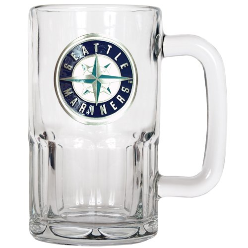 MLB Seattle Mariners 20-Ounce Root Beer Style Mug - Primary Logo at Amazon.com
