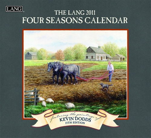The Lang Four Seasons Featuring Paintings of Kevin Dodds Wall Calendar 2011