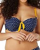 Panache Cleo Swimwear Leena Bikini Top CW0162 Heart Print 30E
