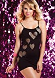 Seamless Dress W/Heart Shaped