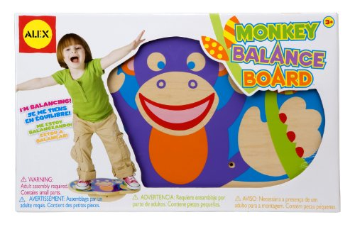 ALEX Toys – Active Play, Monkey Balance Board, 778