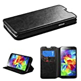 For Galaxy S5 Black MyJacket Wallet(with Tray)(561) (with Package) - LIFETIME WARRANTY
