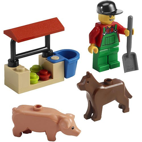 LEGO CITY Farmer 7566 - 1