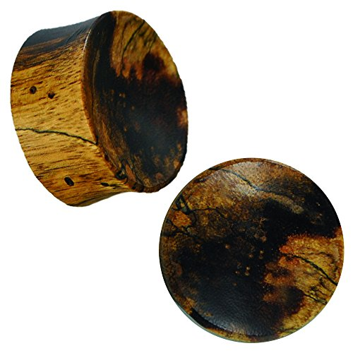 plug-in-legno-chiaro-scuro-variegate-linee-macchie-cavo-tribal-piercing-12-mm-cod-hpt-376-12
