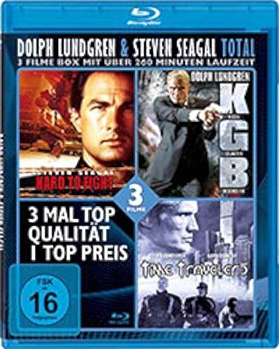 Dolph Lundgren & Steven Seagal TOTAL-BOX (3 Filme) [Blu-ray]