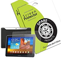 Spare Products Screen Protector Film for Samsung Galaxy Tab 10.1 - (1 Pack) Anti-Glare