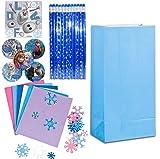 Frozen Birthday Party Deluxe Favor Bundle for 12 - 12