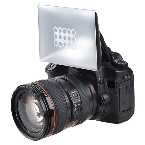 eForCity Camera Flash Diffuser Compatible with Canon / Nikon / Pentax