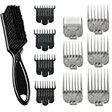 Andis Stylist Combo-Powerful High-speed adjustable clipper blade & T-Outliner T-blade trimmer with fine teeth for dry shaving, outlining and fading With a BeauWis Blade Brush Included (Black)