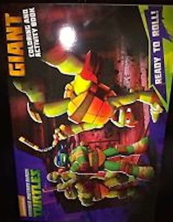 Teenage Mutant Ninja Turtles Giant Coloring & Activity Book
